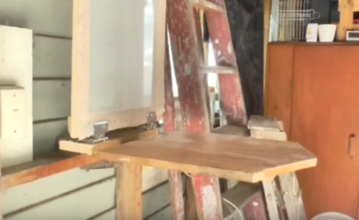 How to Build a DIY Single-Color Silk-Screen Printing Station