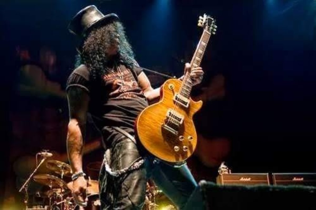 Slash and the Gibson Les Paul
