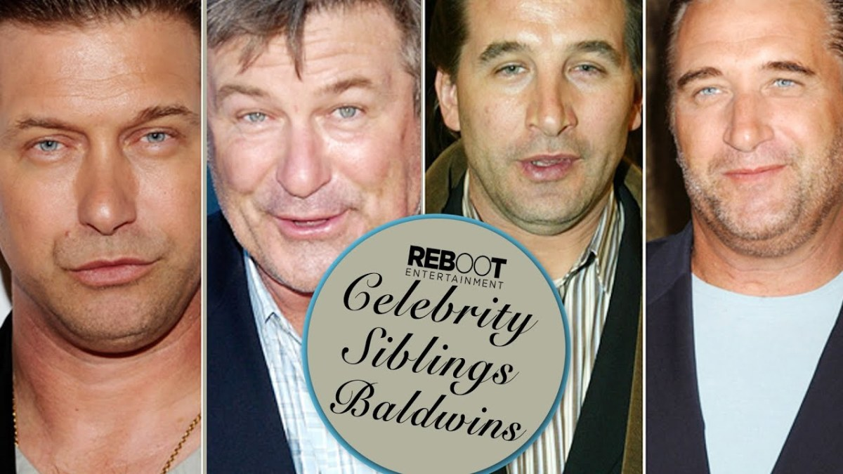Four Baldwin Brothers Are Actors: Alec, Daniel, William, and Stephen