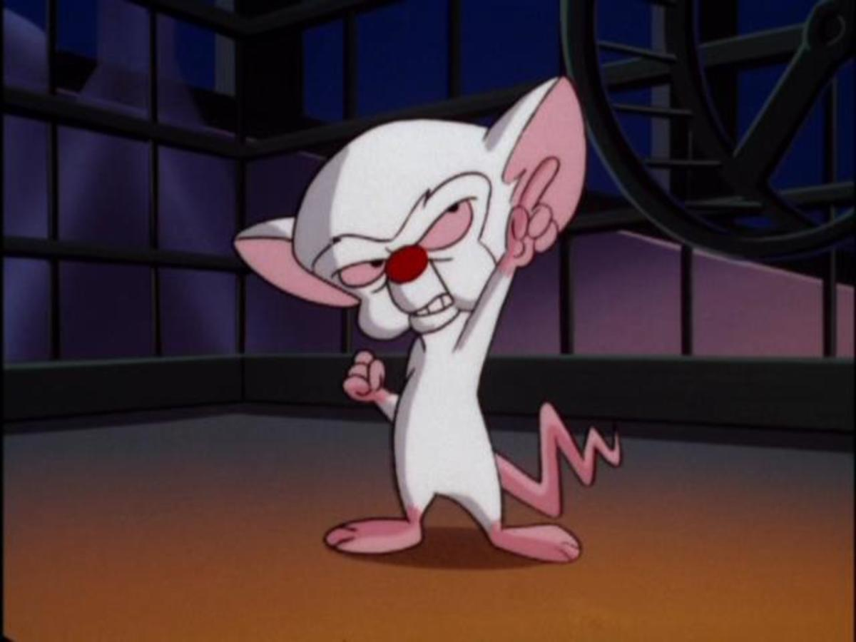The Brain from Pinky and the Brain