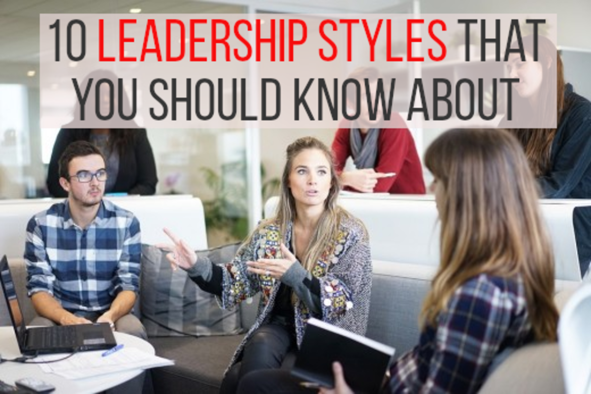 There are many different leadership styles, read on to find out about 10 of the most common ones...
