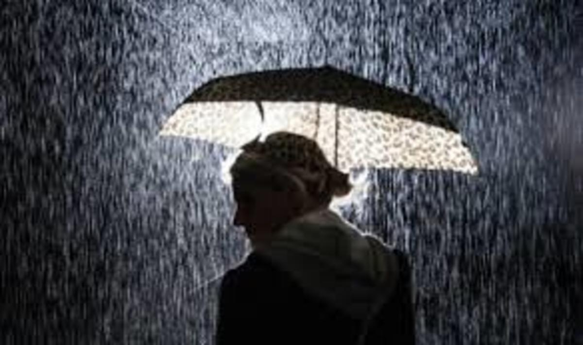 Rain is a Perfect Cup of Tea