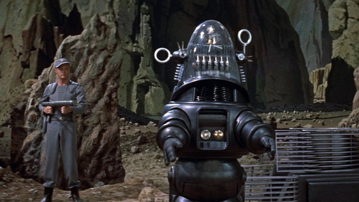 Robby the Robot in movie Forbidden Planet
