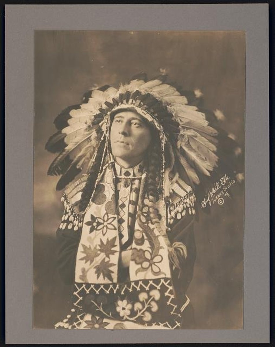 Edgar Laplante as Chief White Elk.
