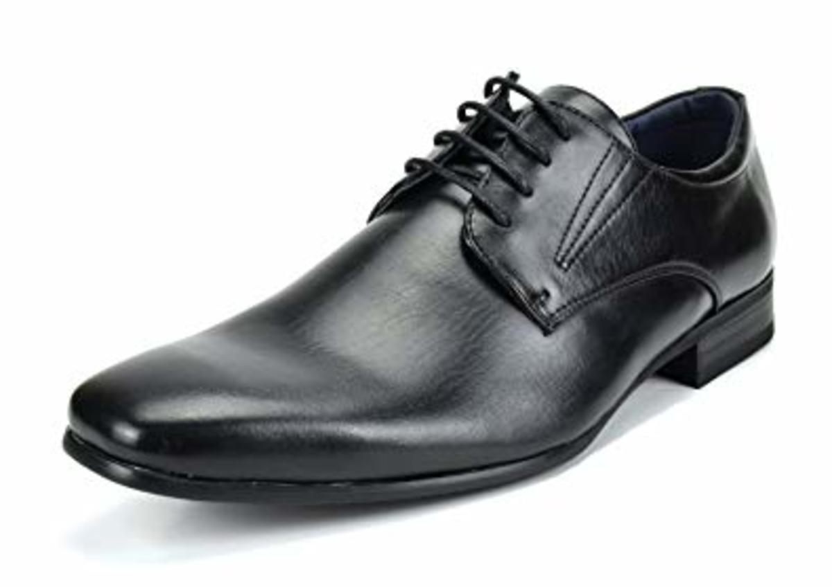 Review of Bruno Marc Men's Leather Lined Snipe Toe Oxfords Dress Shoes
