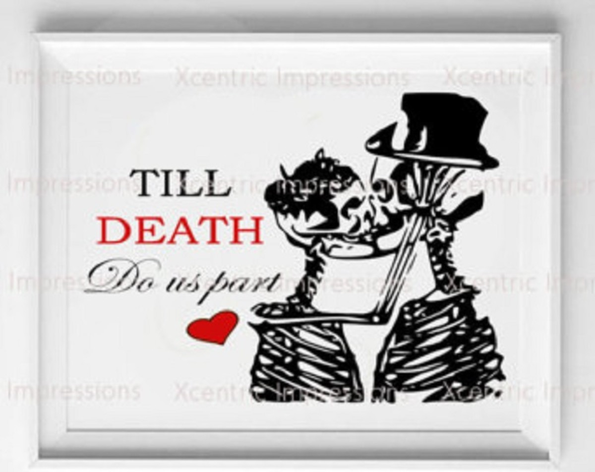 Till Death Do Us Part; A Story of Mystery and Intrigue Part 9