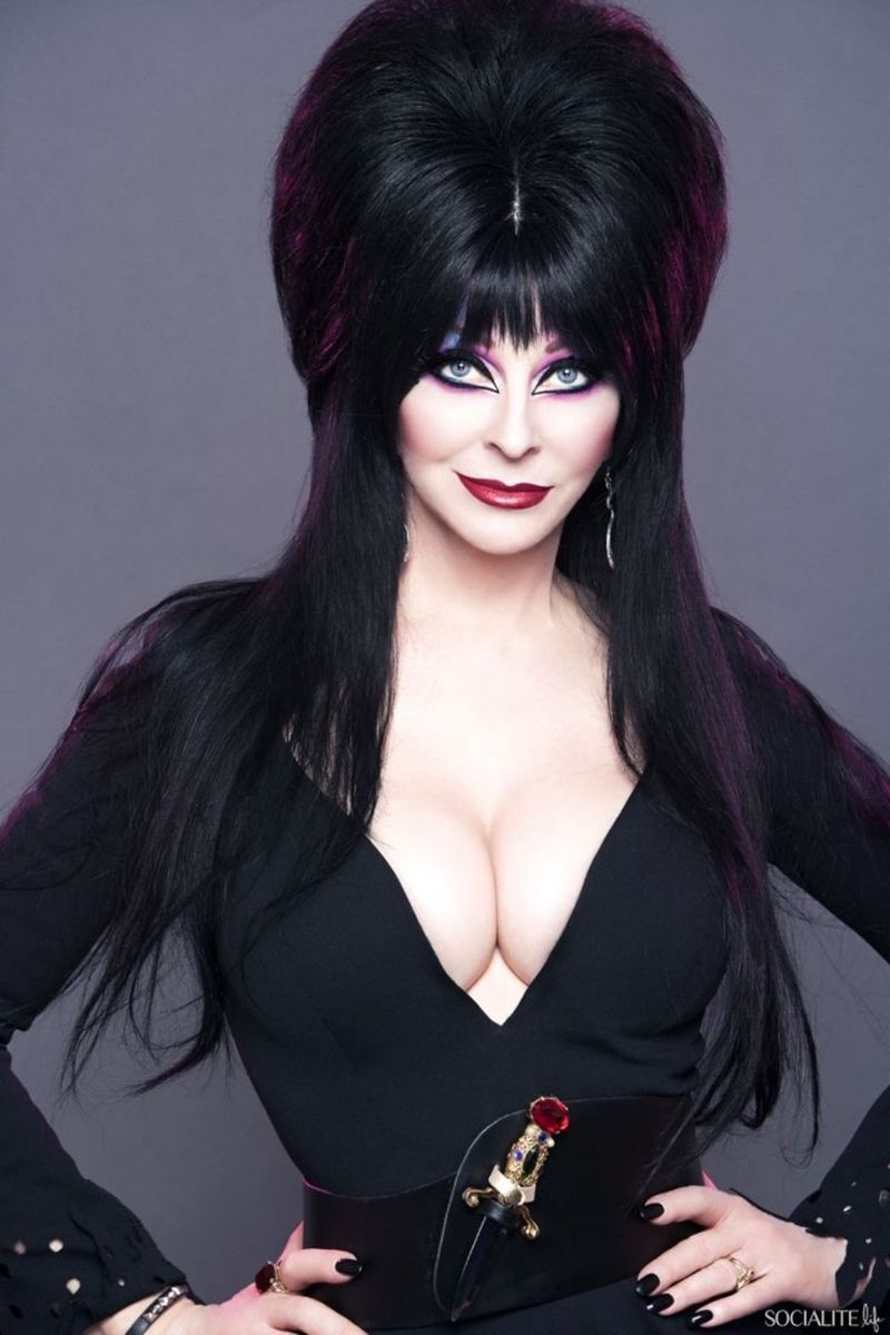 Elvira Is an Internationally Recognized Character Created by Cassandra Peterson