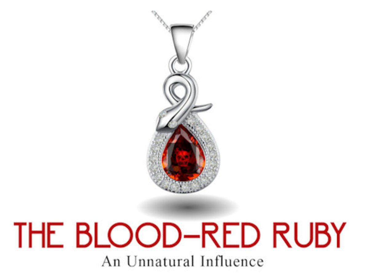 The Blood-Red Ruby has a history of deception and death. It will take a special person to be worthy of lifting the curse!