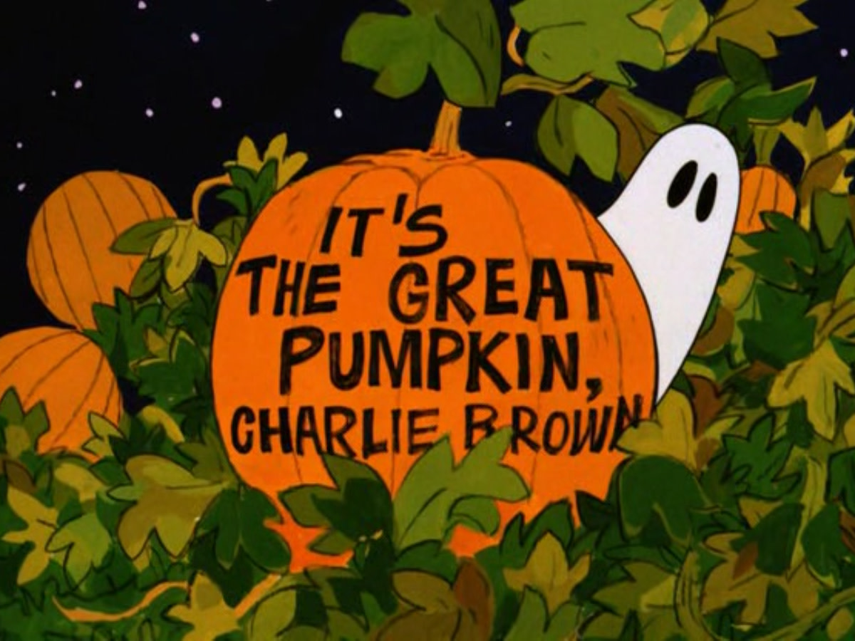 Advertisement for It's The Great Pumpkin Charlie Brown