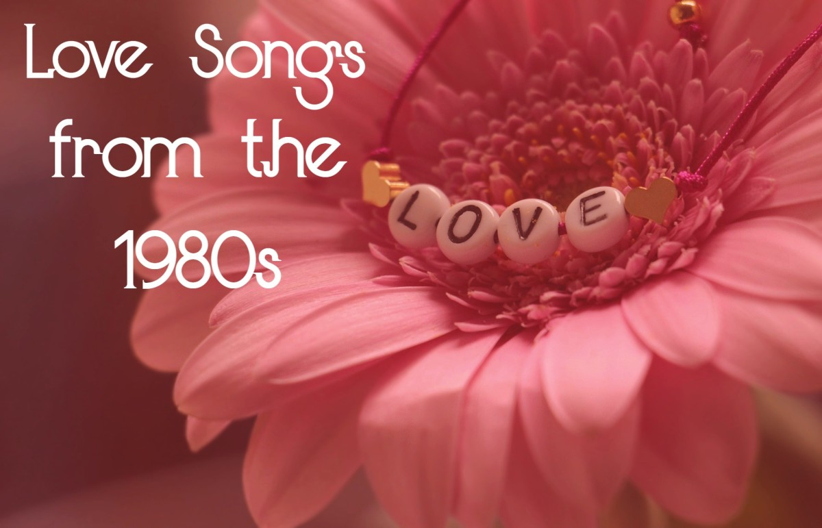 Turn back time to the 1980s, when the music provided an oasis of awesomeness amidst the Cold War and negative world events.  Celebrate pop, rock, and R&B love songs from the era with a nostalgic playlist.