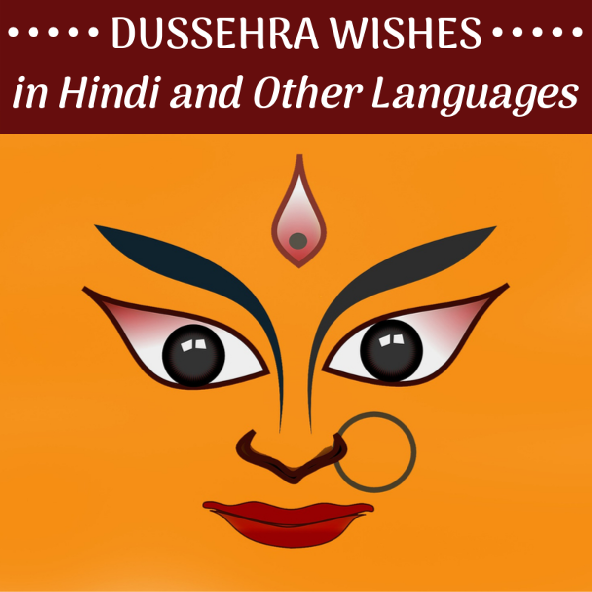 Wish your loved ones a happy Dussehra in their native or regional language.