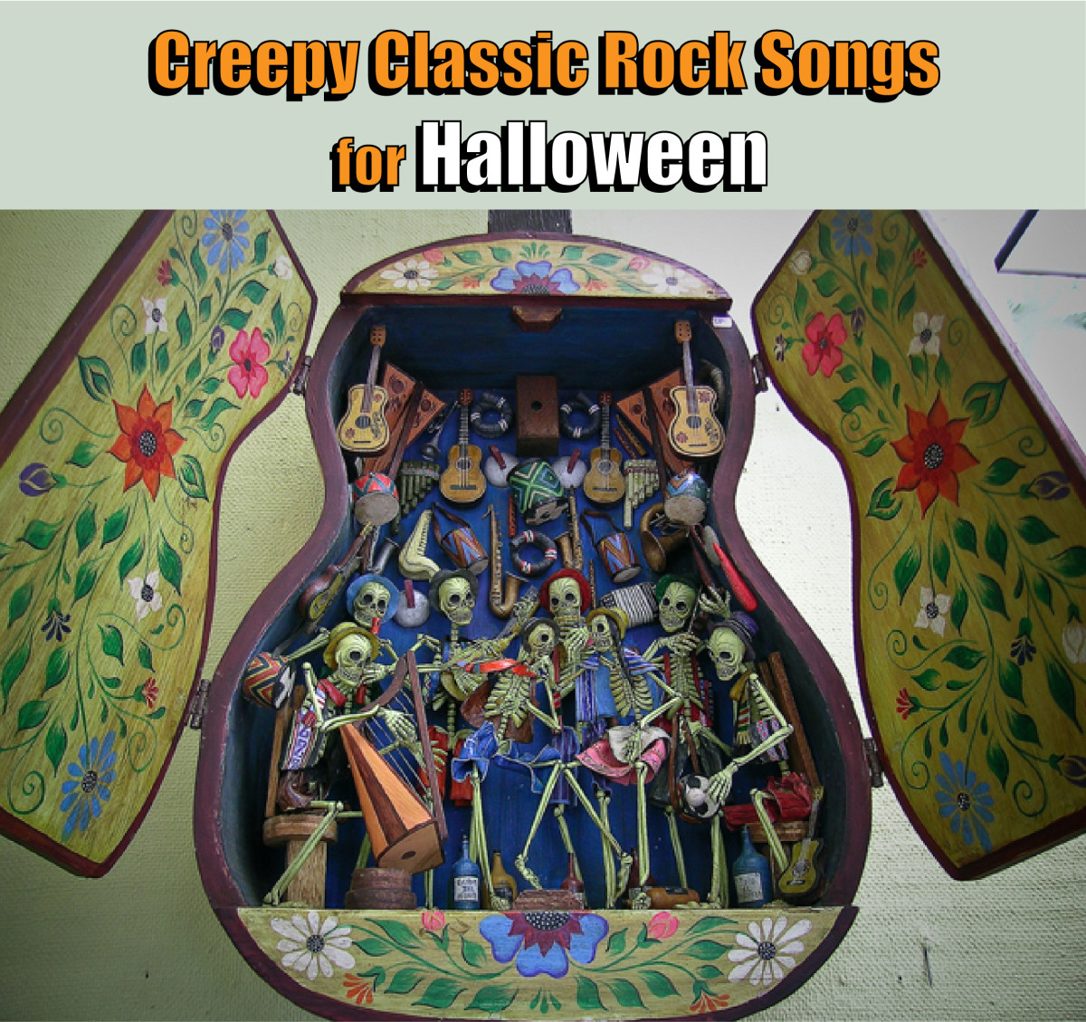 Nine Creepy Classic Rock Songs for Halloween