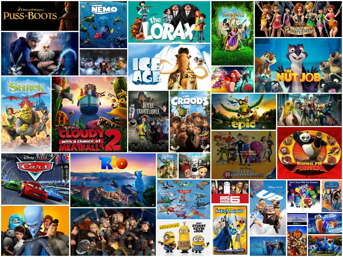 Elijah's Favorite Animated Films