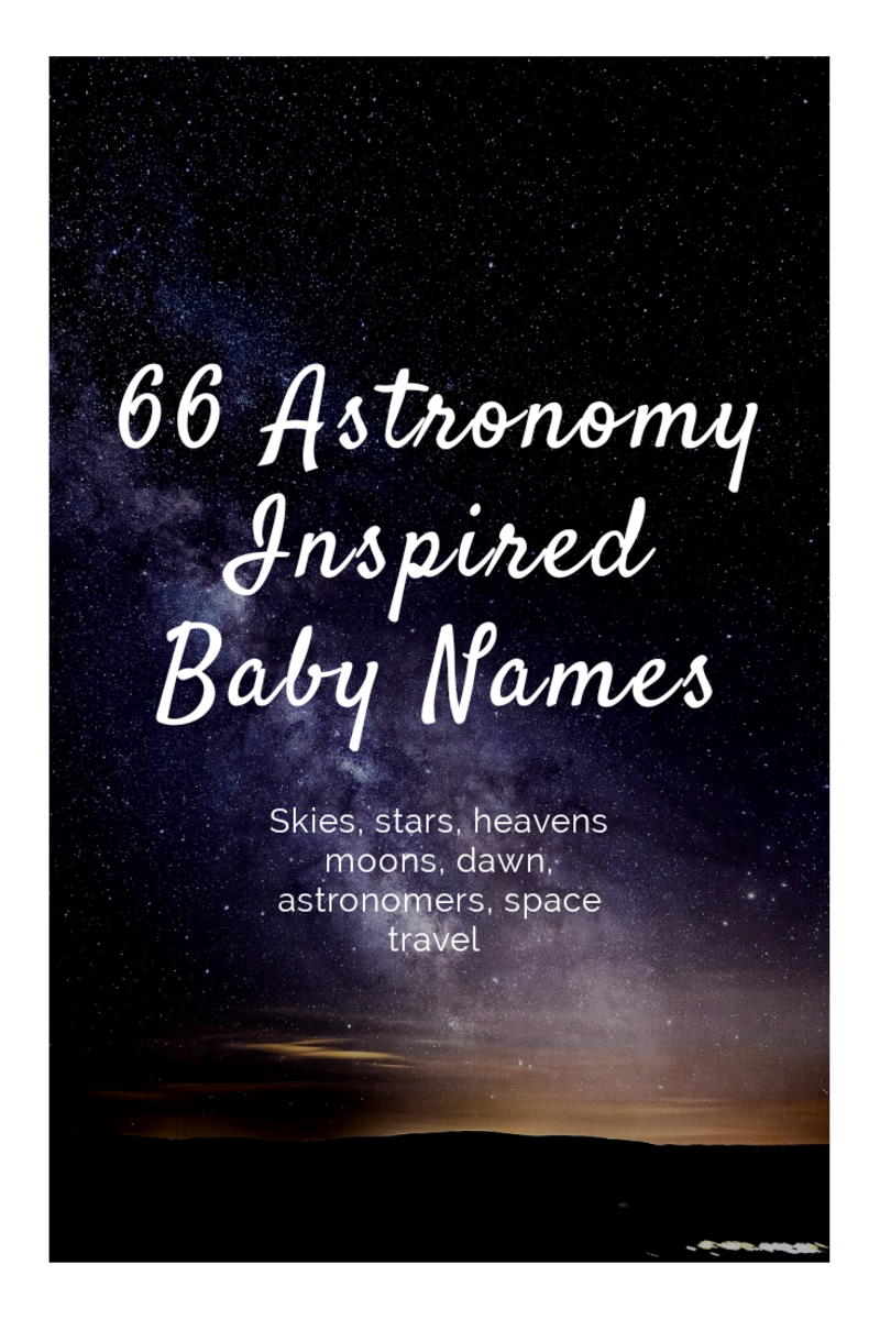 Astronomy-Inspired Baby Names