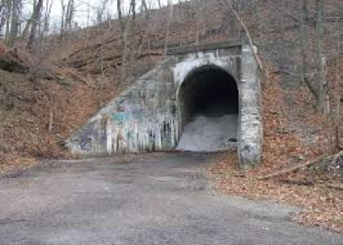 The Green Man Tunnel.