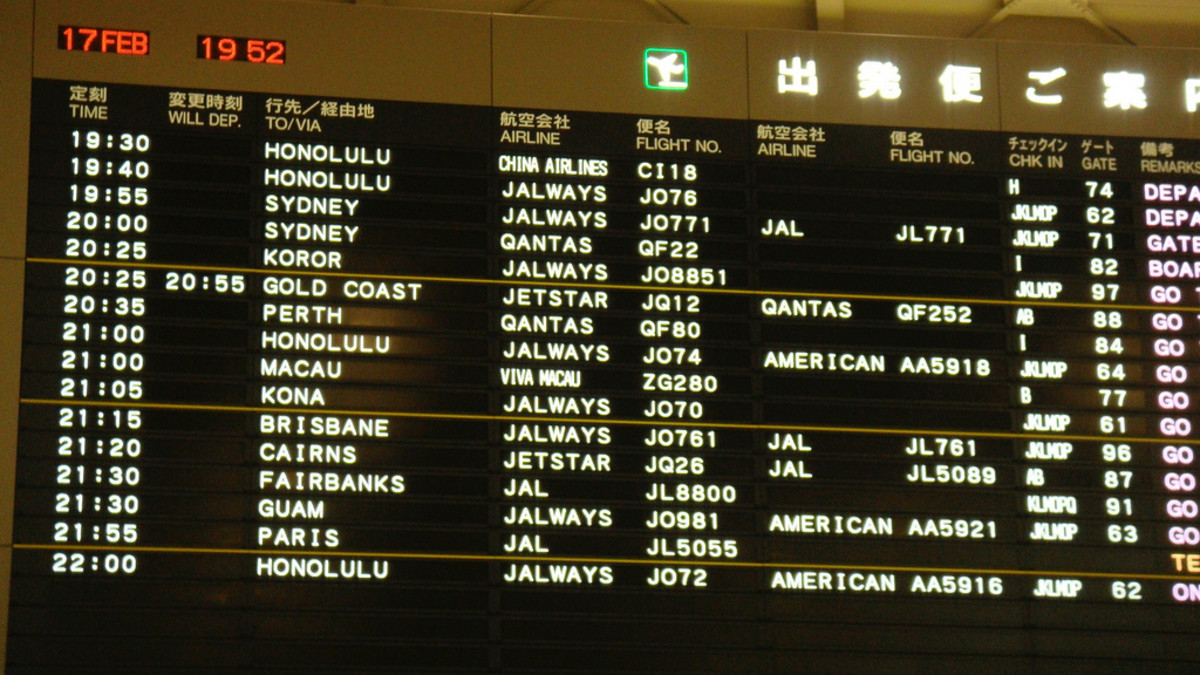 Traveling Through Narita International Airport