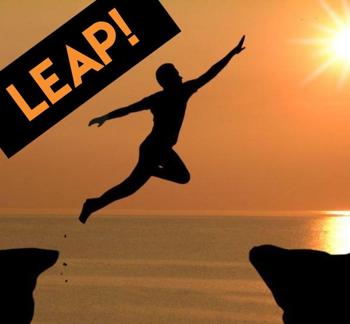 Leap! (The Poem)