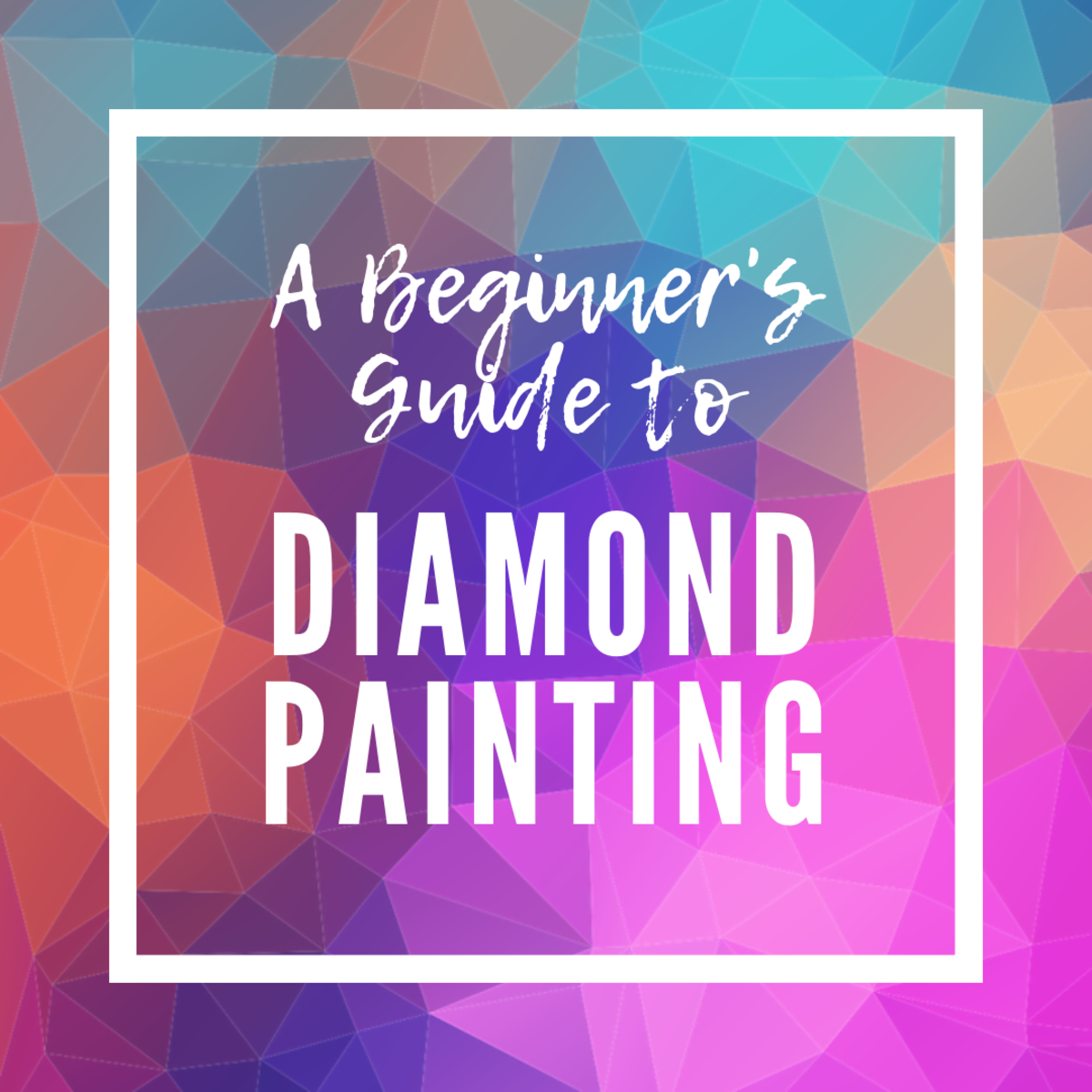 Diamond painting is an easy, affordable hobby for artists and crafters.