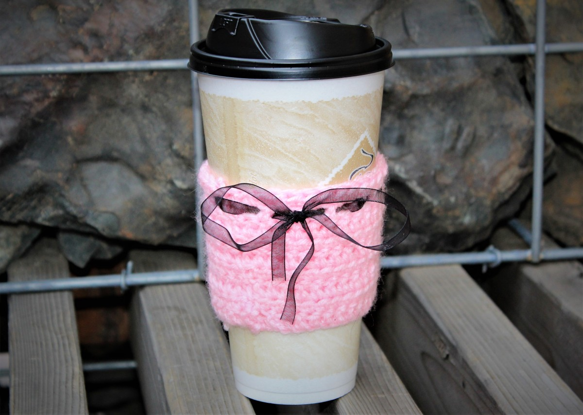 Pastel Goth Coffee Cozy