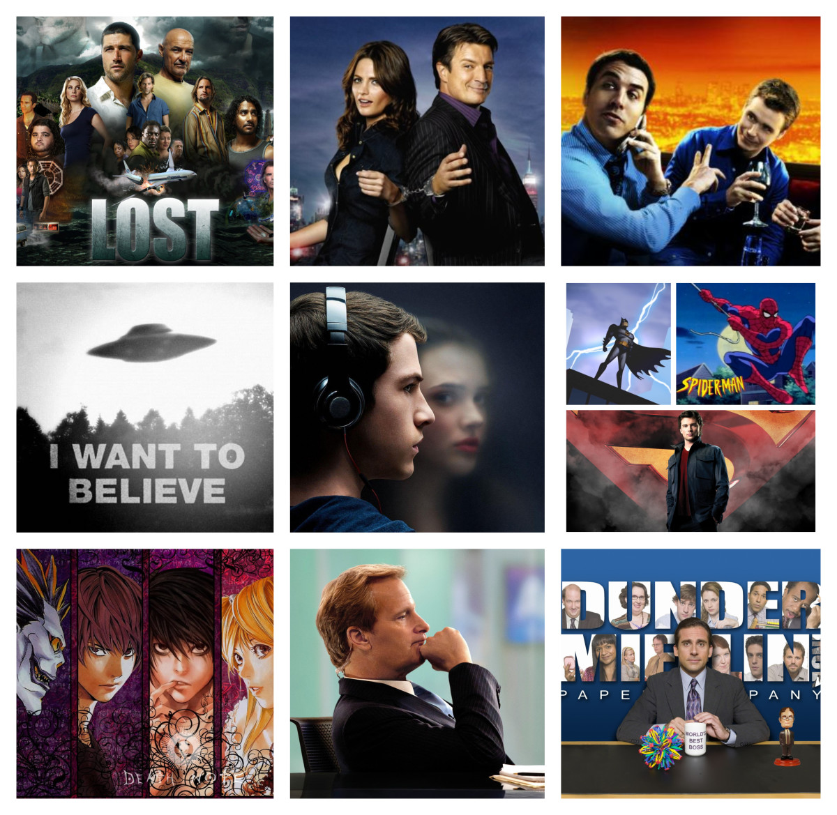 Top 10 TV Shows That Changed My Life