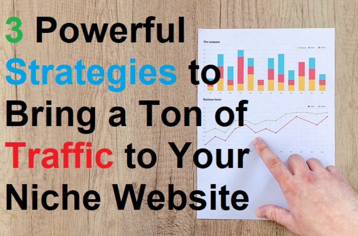 3 Powerful Strategies to Bring a Ton of Traffic to Your Niche Website