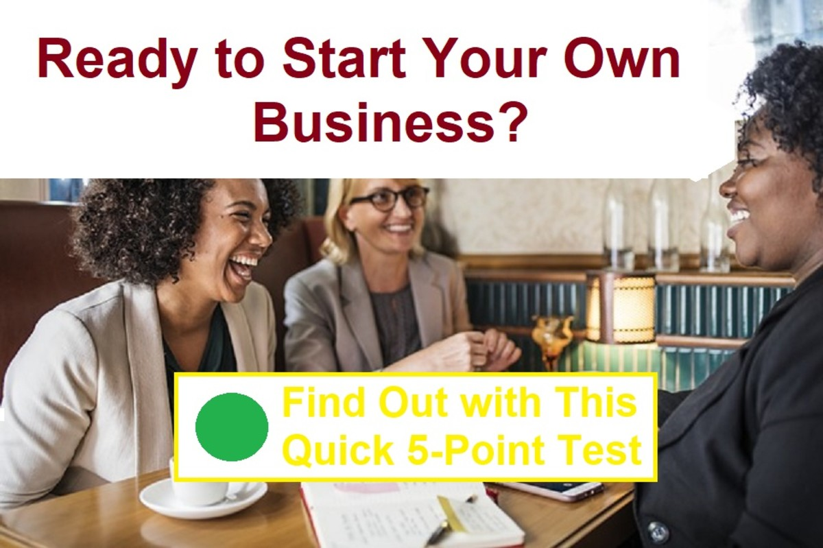 Starting your own business is an exciting step, but needs lots of thought and preparation. You also need to be the right kind of person with the right kind of mindset