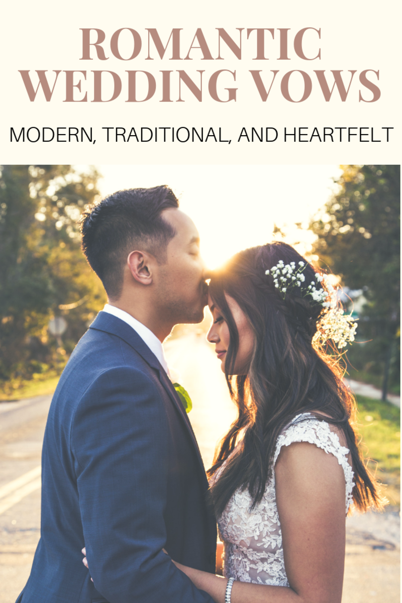 Traditional, Heartfelt, and Funny Wedding Vow Examples and Quotes