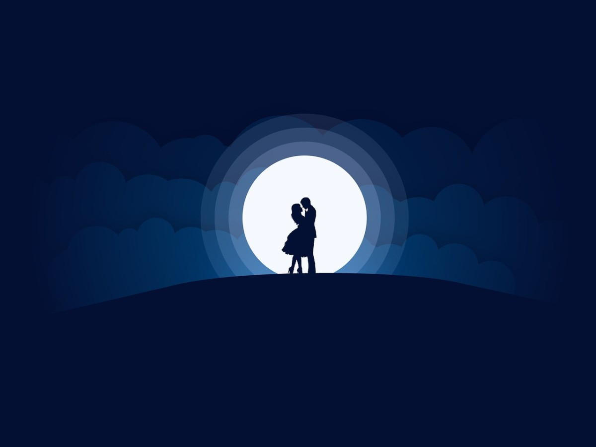 Moonlit Attraction, a Love Poem