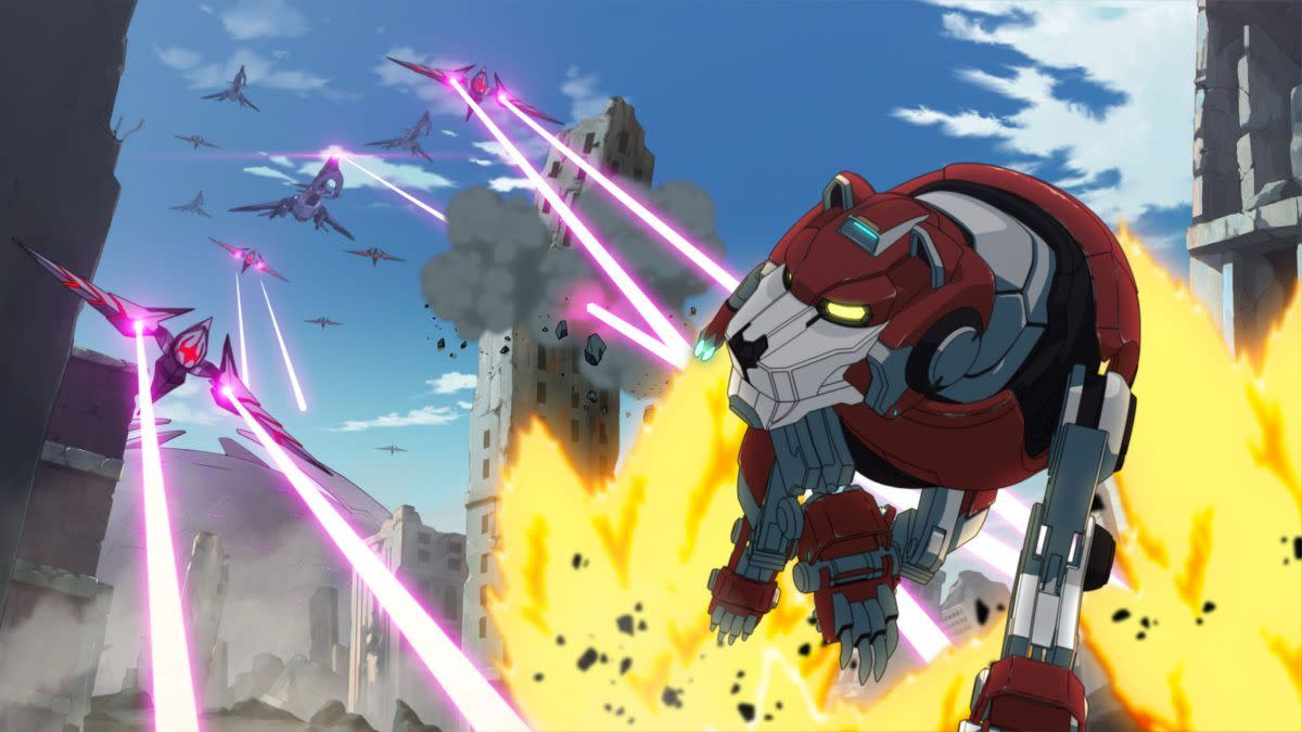 Voltron: Legendary Defender (image courtesy of Dreamworks)