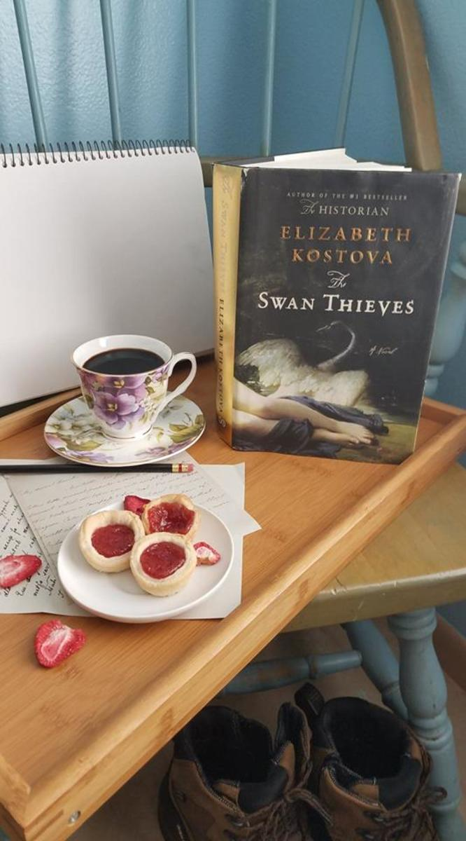 The Swan Thieves Book Discussion and Strawberry Pie Bites Recipe
