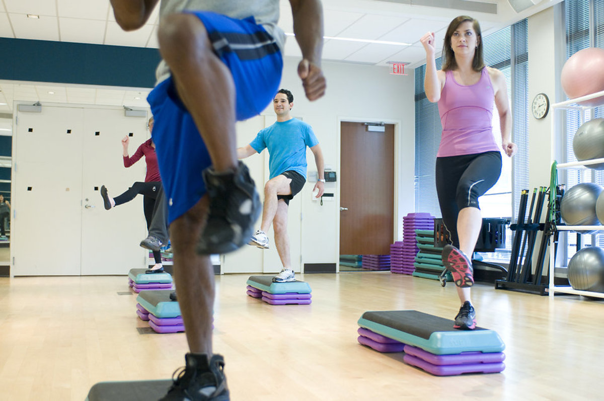 HIIT classes are a great way to keep yourself accountable.