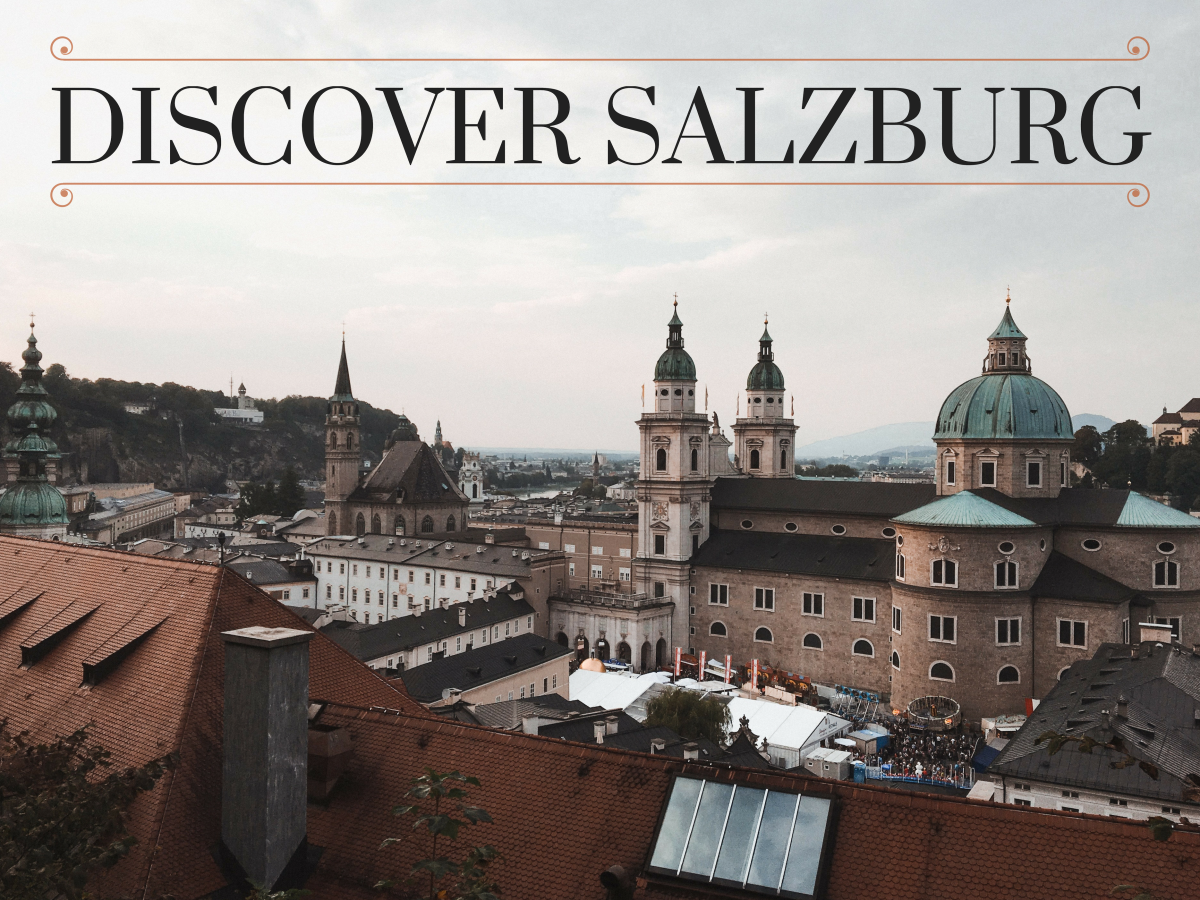Read on to discover five must-see places in the charming city of Salzburg.