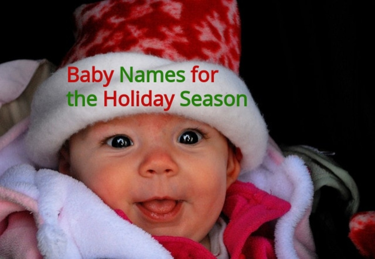 The holiday season is a wonderful time to make a list of winter time baby names.