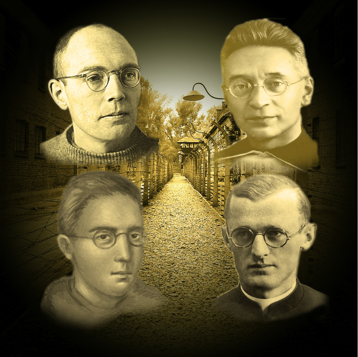 Four Priests of Dachau