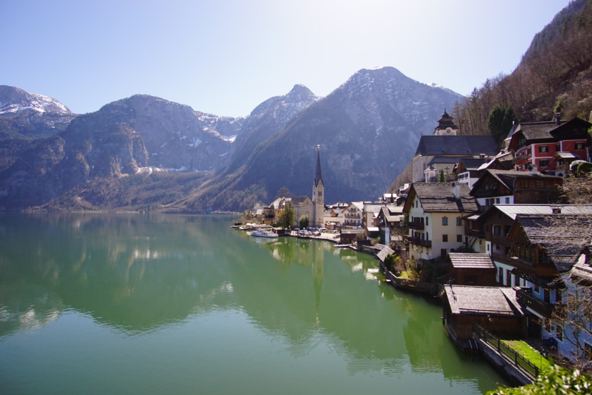 Welcome to the picturesque town of Hallstatt.