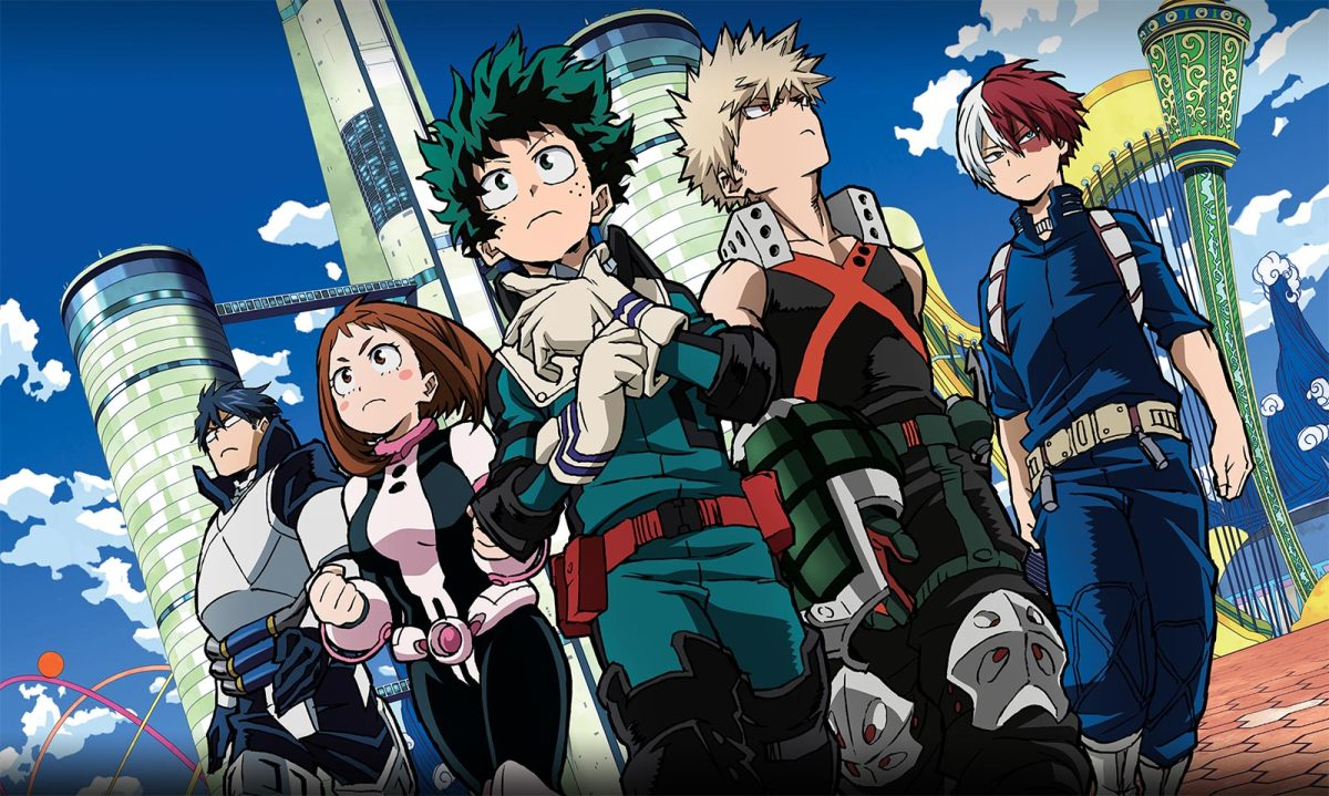 My Hero Academia (image courtesy of Funimation)