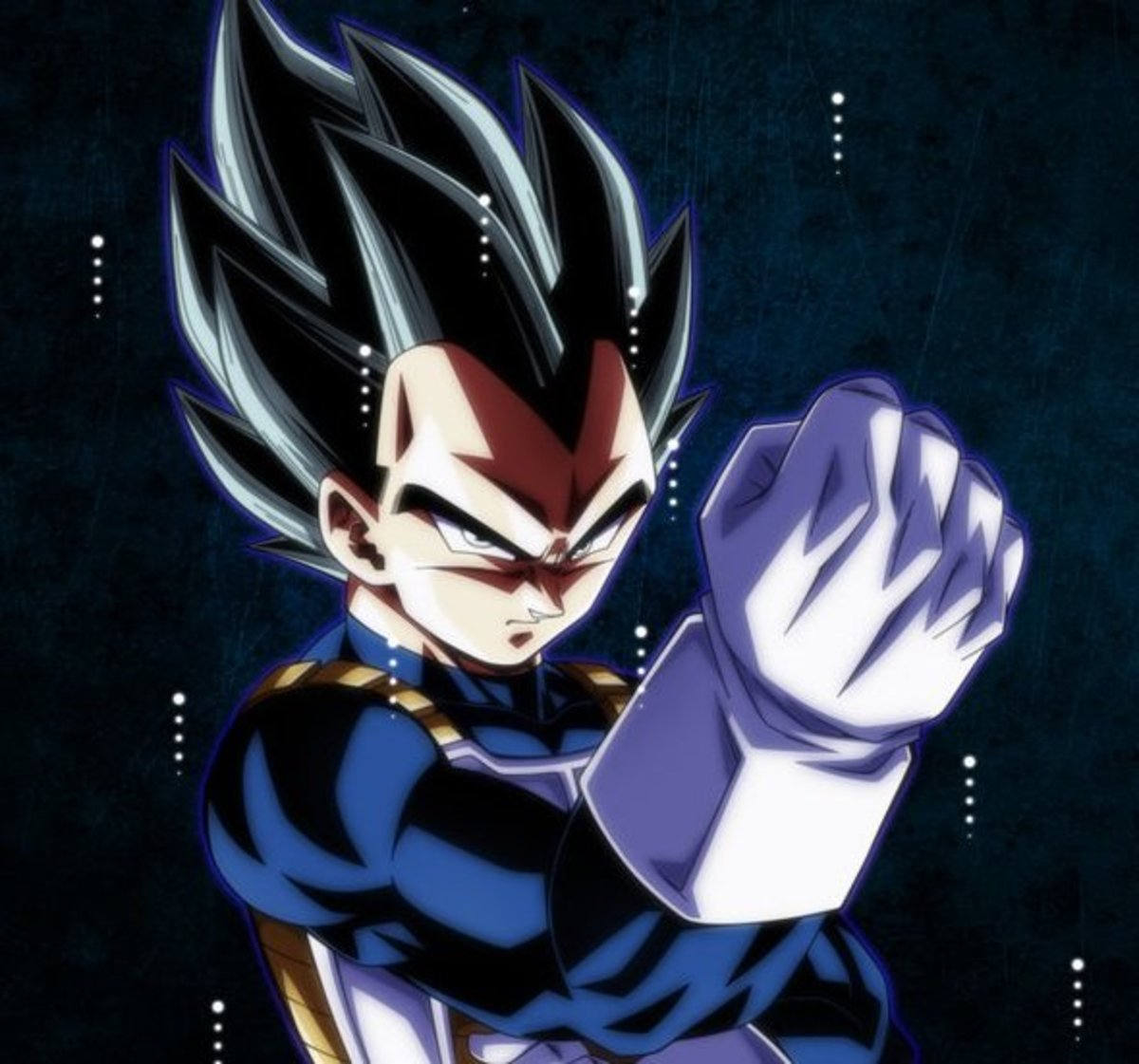 Vegeta in base form