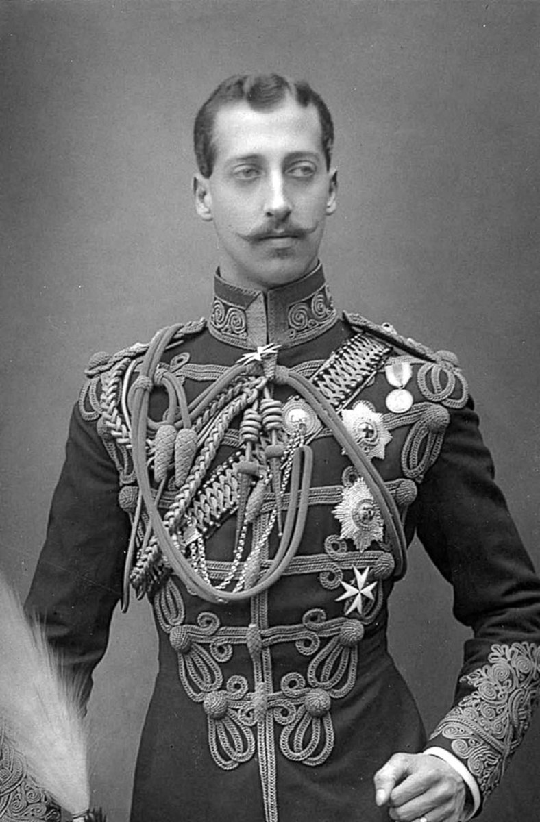The Duke of Clarence and Avondale.