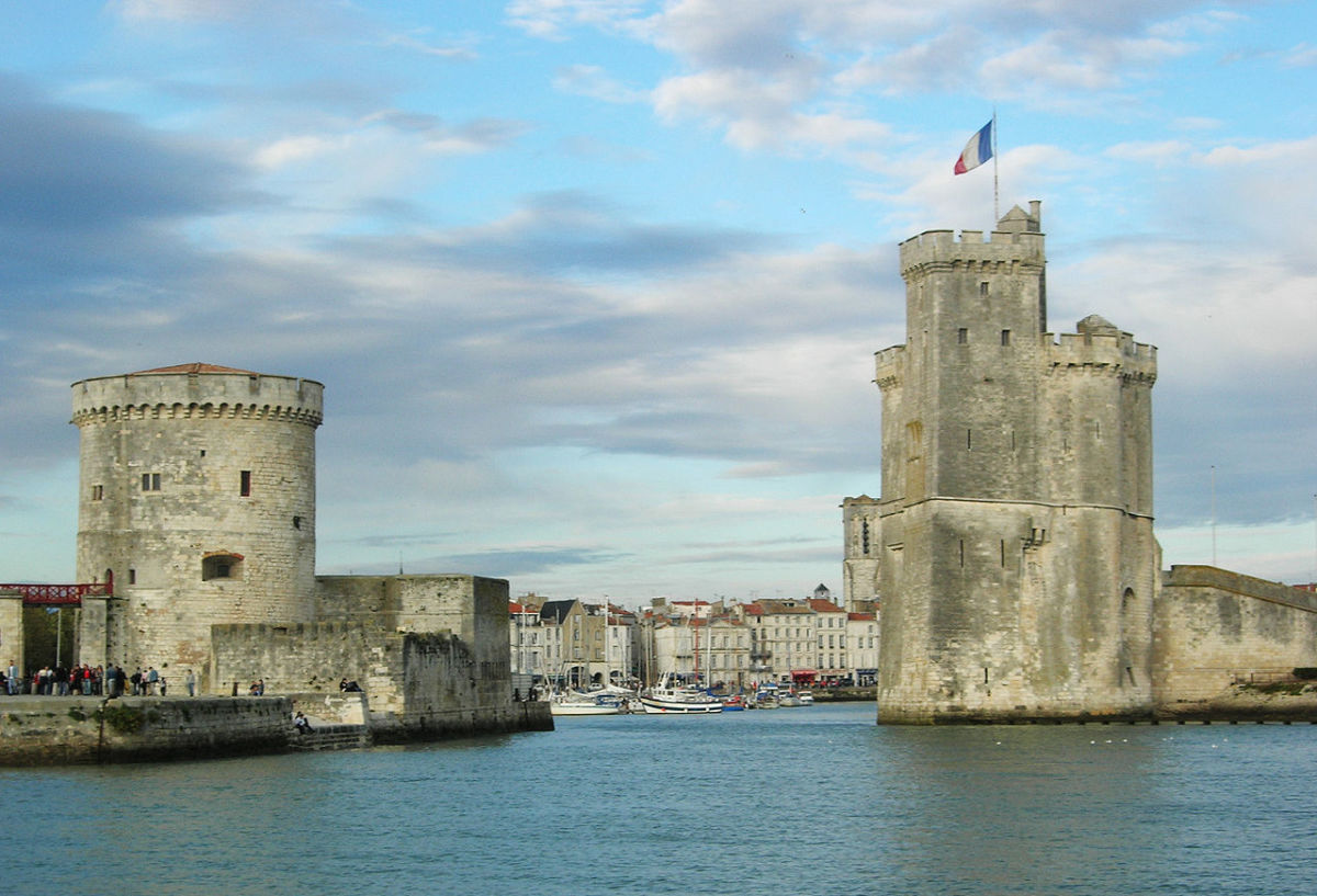 The towers of La Rochelle at the old port. There are also quite a substantial number of history books on the medieval era located there!