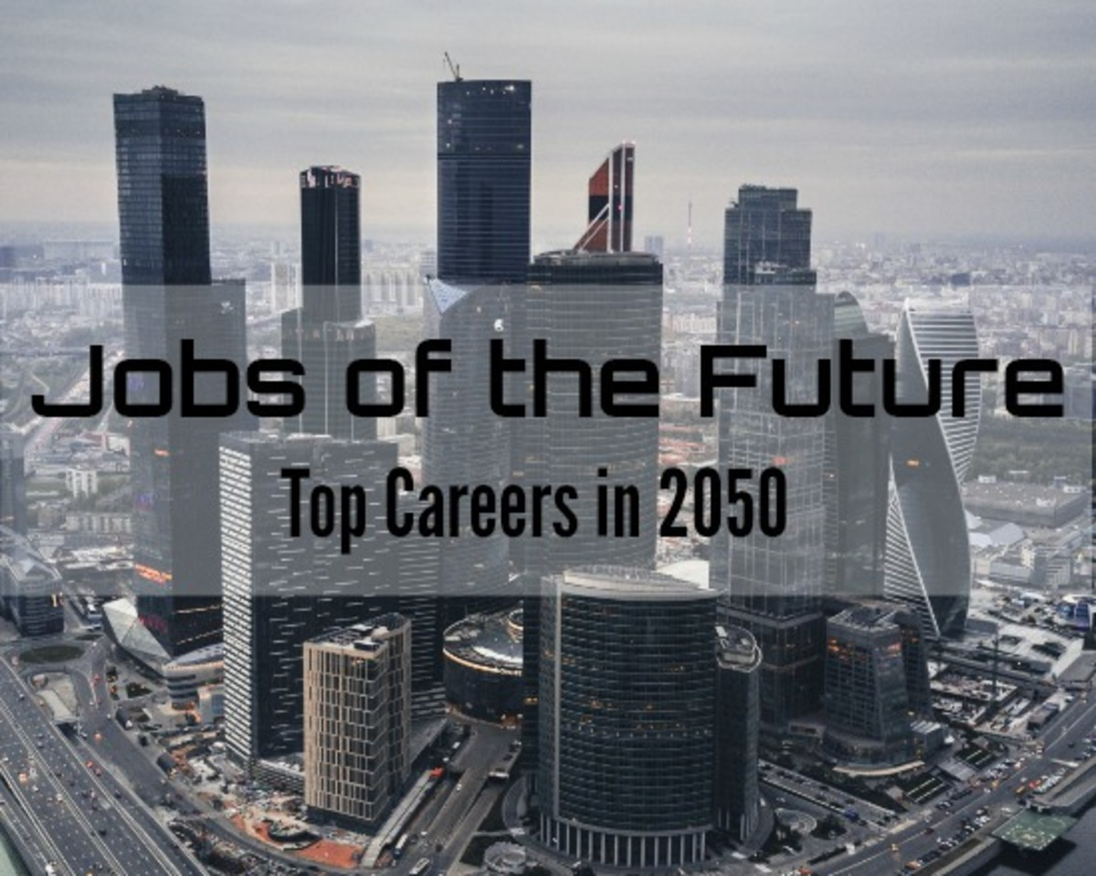 Top Jobs for the future (year 2050)