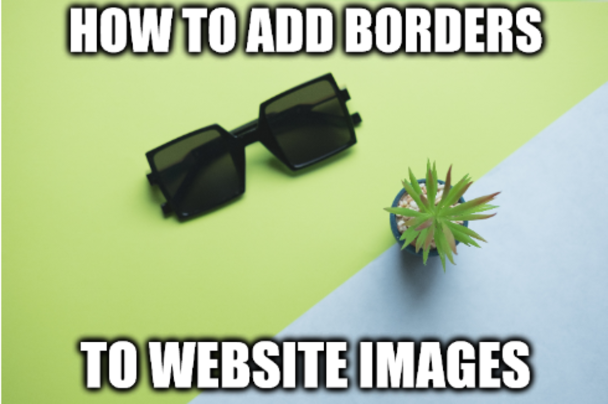 How to Add Borders to Website Images