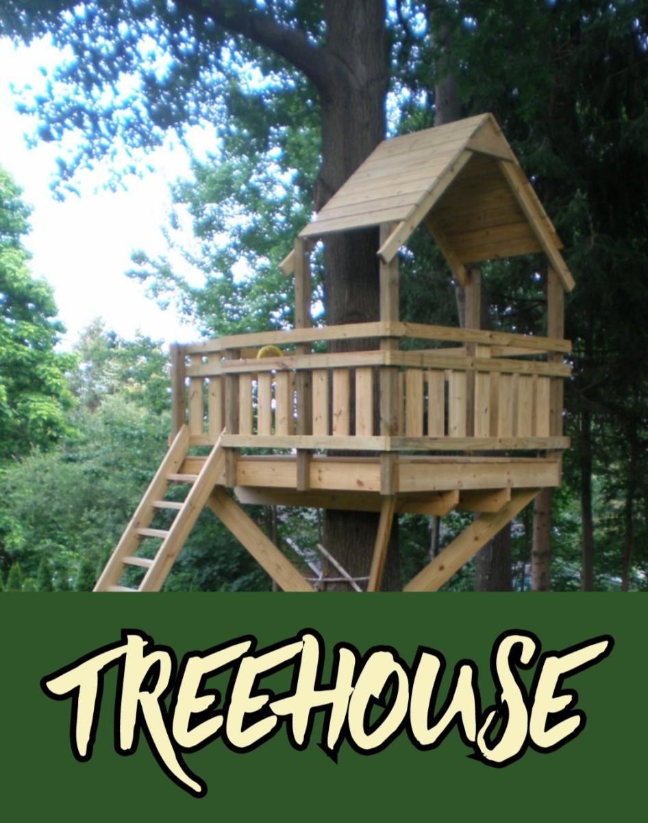 Tree House (a Narrative Poem)