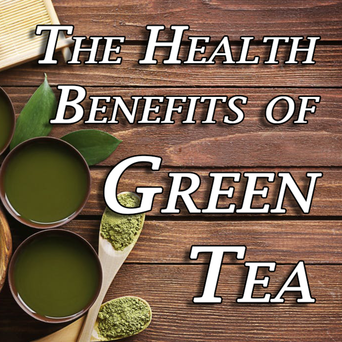 There are many health benefits to drinking green tea!