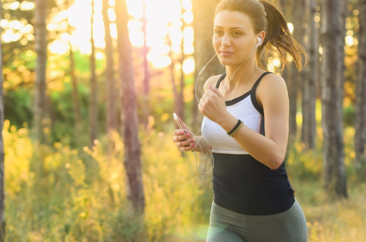 Regular exercise, including jogging, can help to reduce the amount of pain you experience during your period.