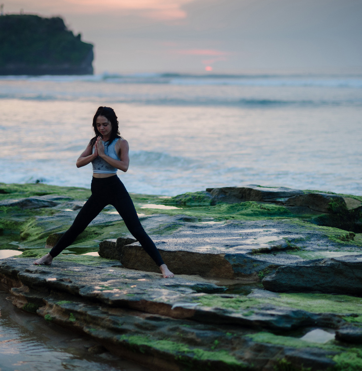 Yoga is a calming workout that may relieve anxiety and depression.