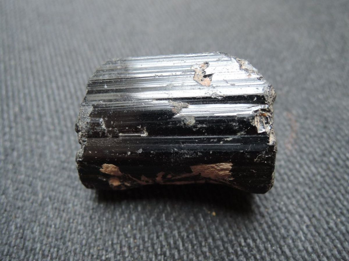 Black tourmaline is a powerful grounding and protective stone.