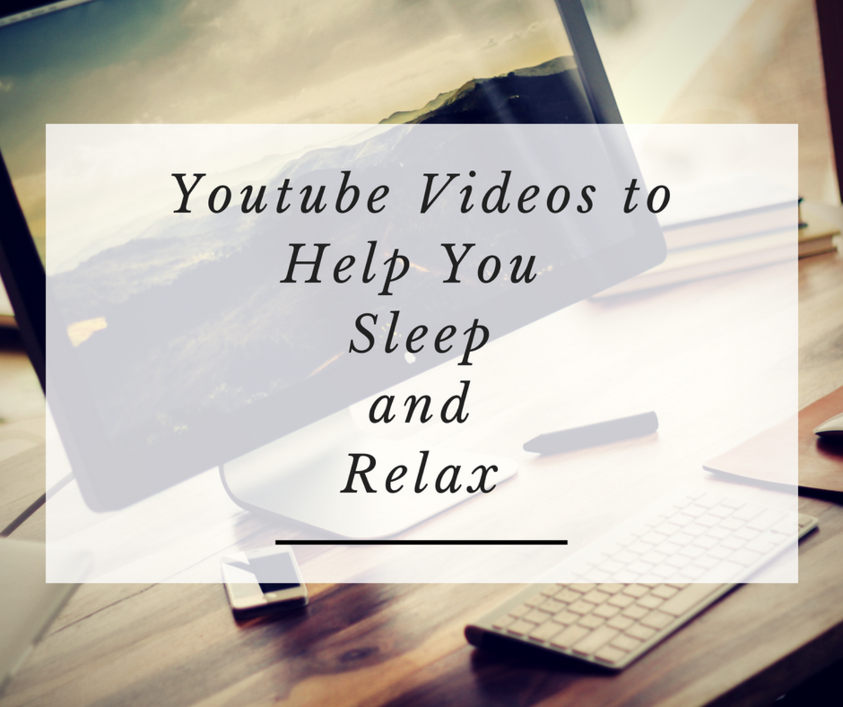 Youtube Videos to Help You Sleep and Relax
