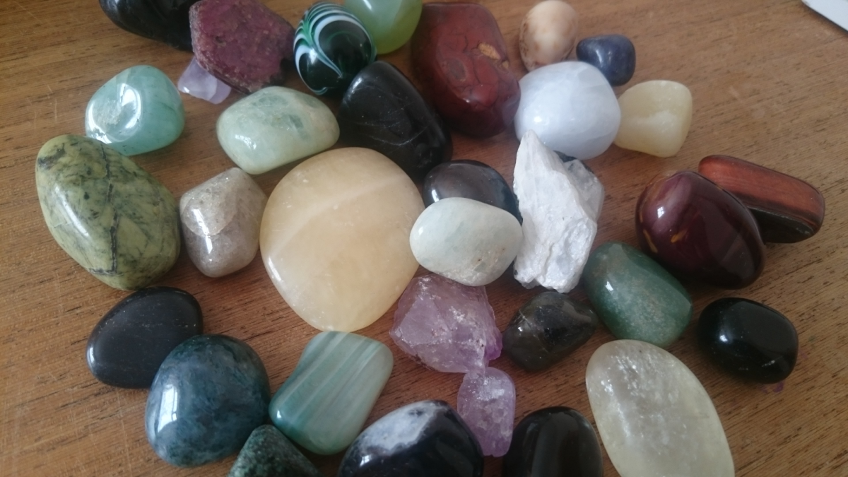Your intution can be used to select appropriate crystals for any difficulties in life.