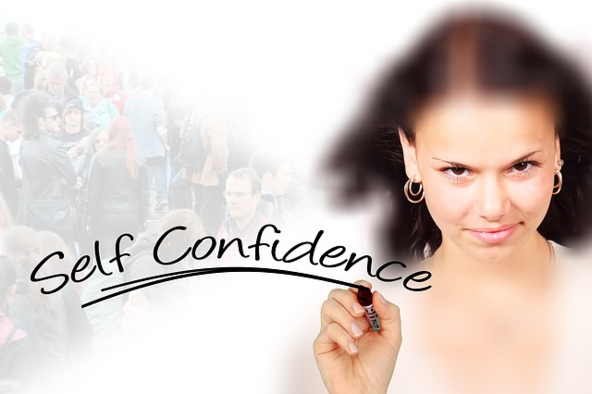 Recalling positive experiences helps with self-confidence.