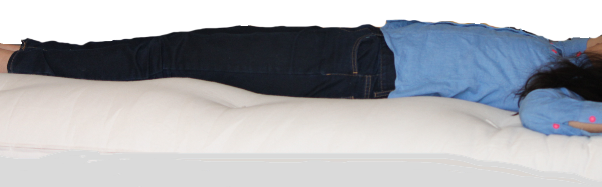 Sleeping in cotton jeans will also work!